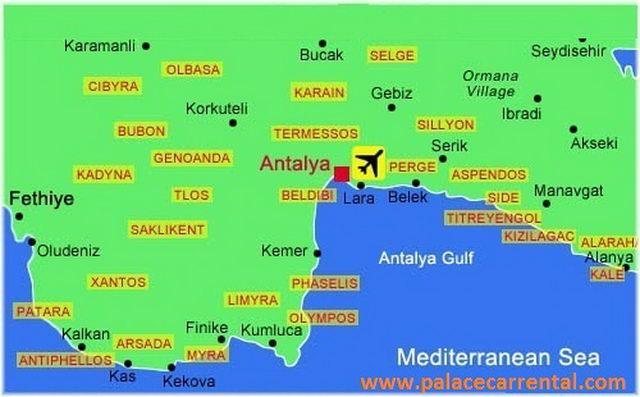 Antalya Car Rental Airport